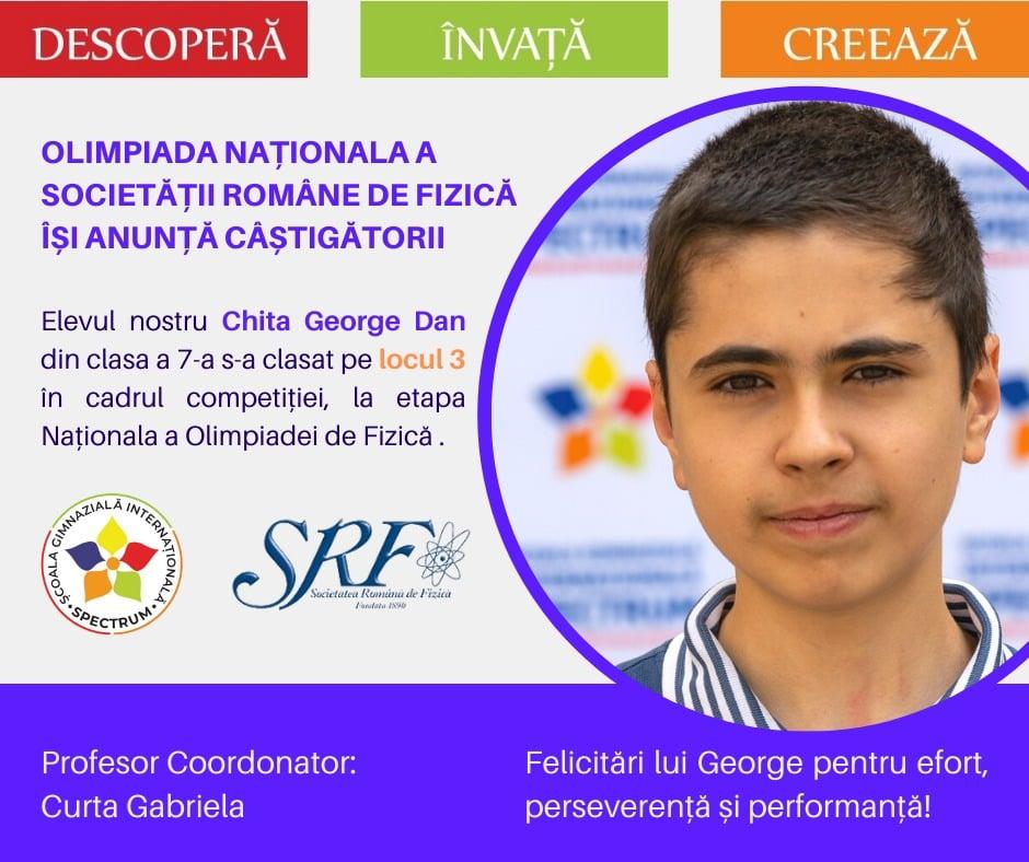 Olimpiada Națională a Societății Române de Fizică
