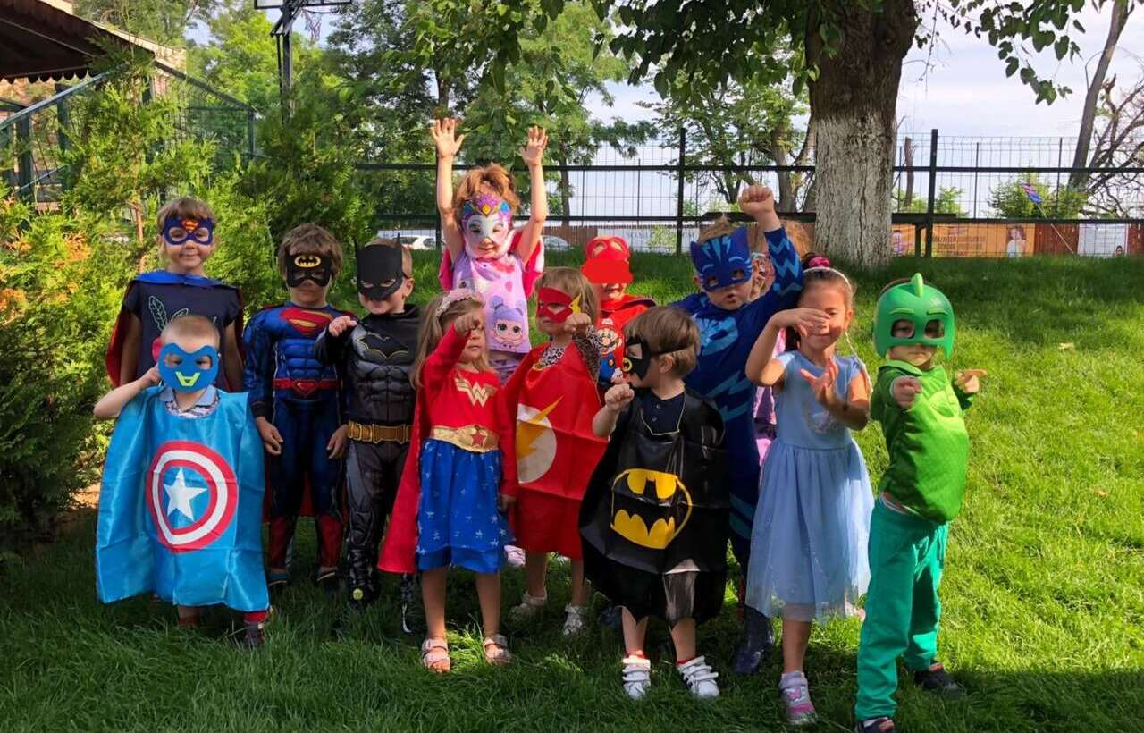 Supereroii de la Grădinița Spectrum